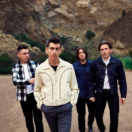 Мужские майки Arctic Monkeys