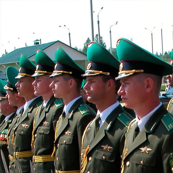 Скатерти пограничных войск