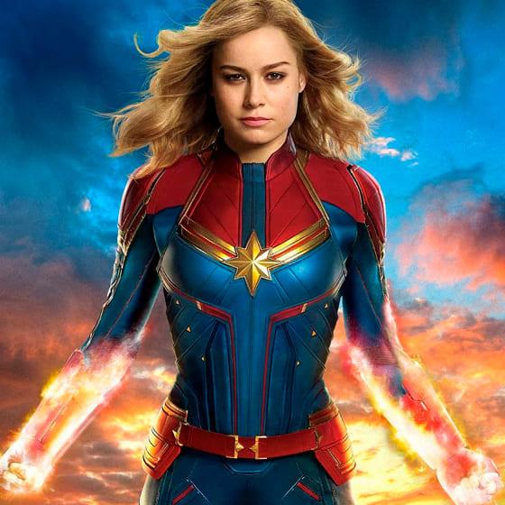 Женские свитшоты Капитан Марвел
