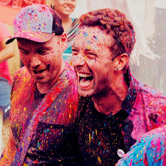 Костюмы Coldplay