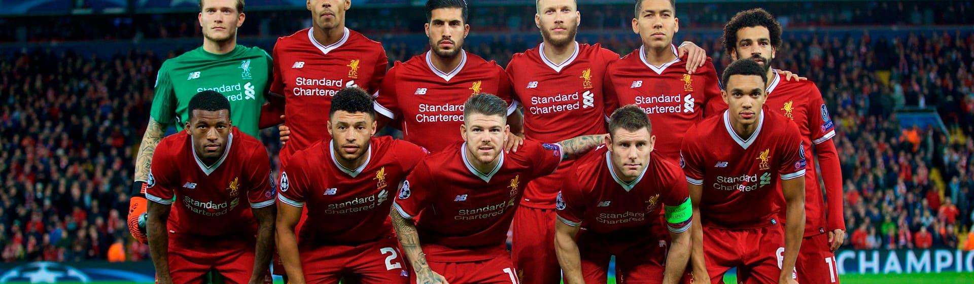 FC Liverpool - Мерч и одежда с атрибутикой