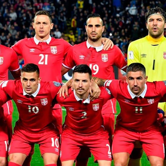 Одежда Сборная Сербии
