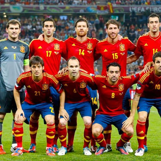 Одежда Сборная Испании