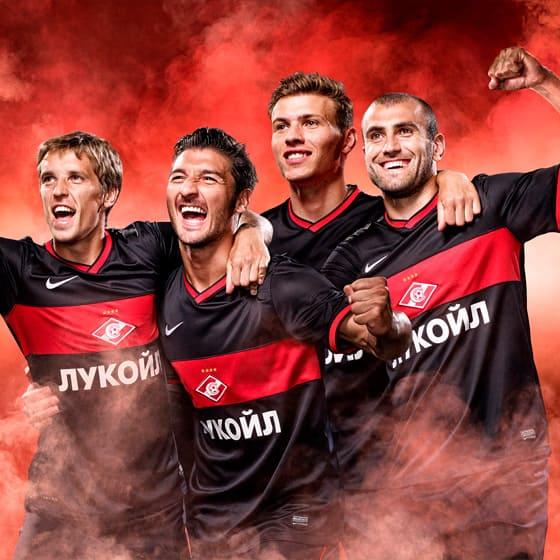 Футболки Спартак
