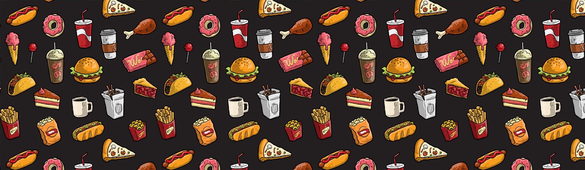 Еда - Мужские футболки