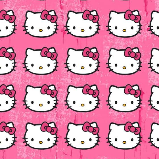 Мужские приталенные футболки Hello Kitty