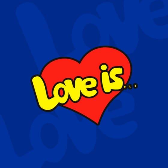 Мужские хлопковые свитшоты Love is