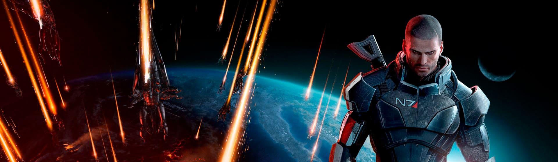Mass Effect - Мужские 3D-лонгсливы