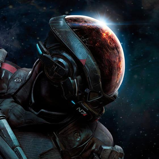 Мужские 3D-лонгсливы Mass Effect