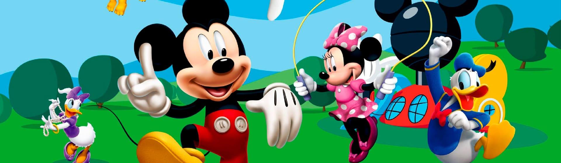 Микки Маус - Мерч и одежда с атрибутикой
