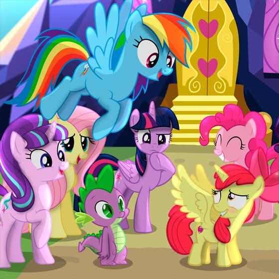 Женские олимпийки My Little Pony