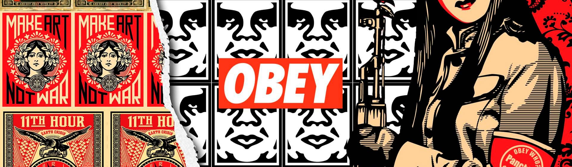 Obey - Мерч и одежда с атрибутикой