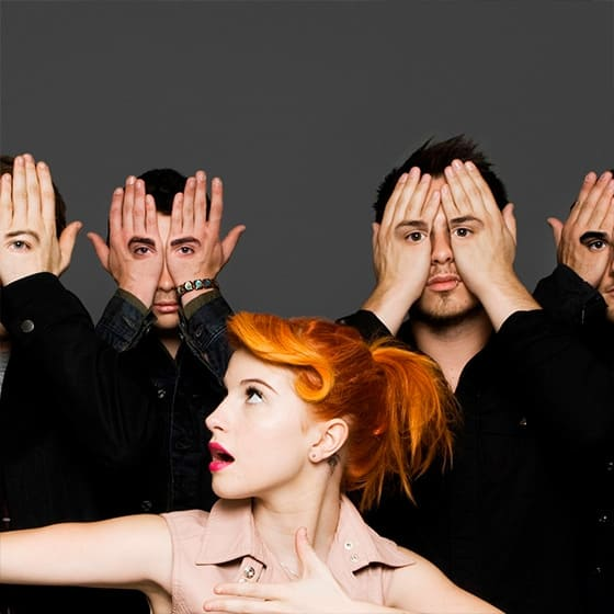 Костюмы Paramore