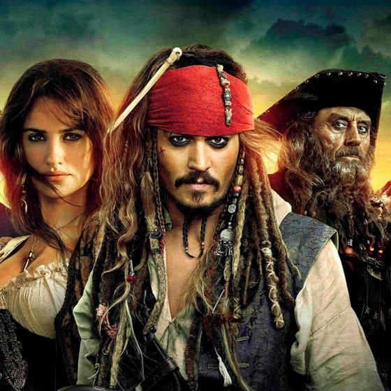 Женские толстовки Пираты Карибского моря