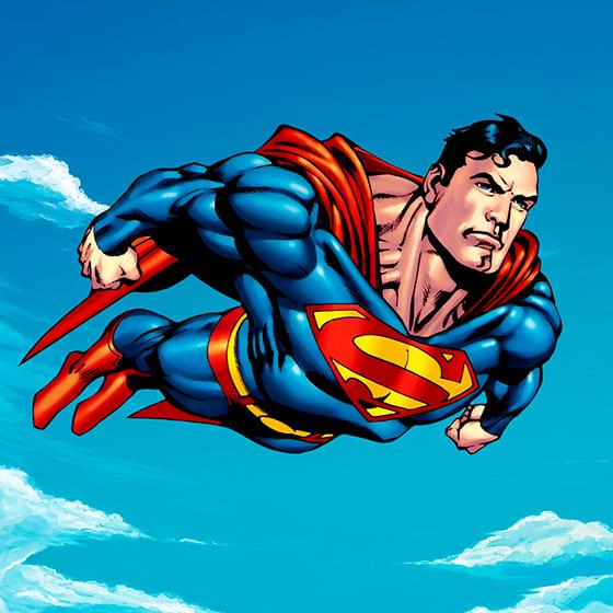 Демисезонные куртки Супермен
