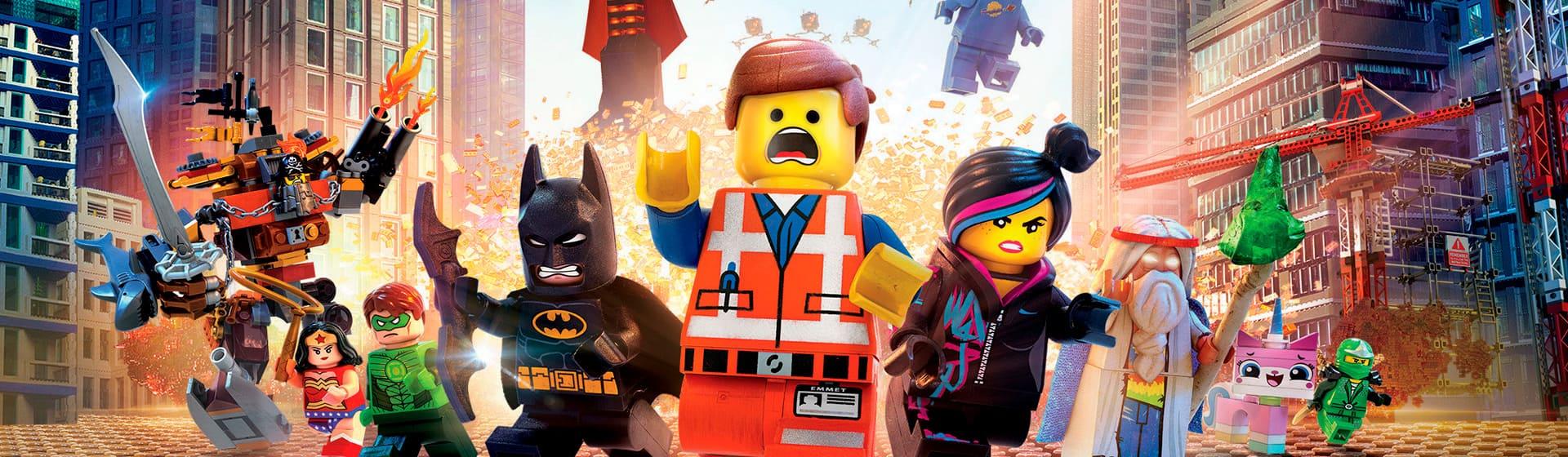 Лего: Фильм - Мужские футболки