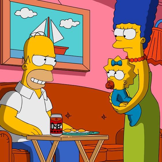 Женские лонгсливы Симпсоны