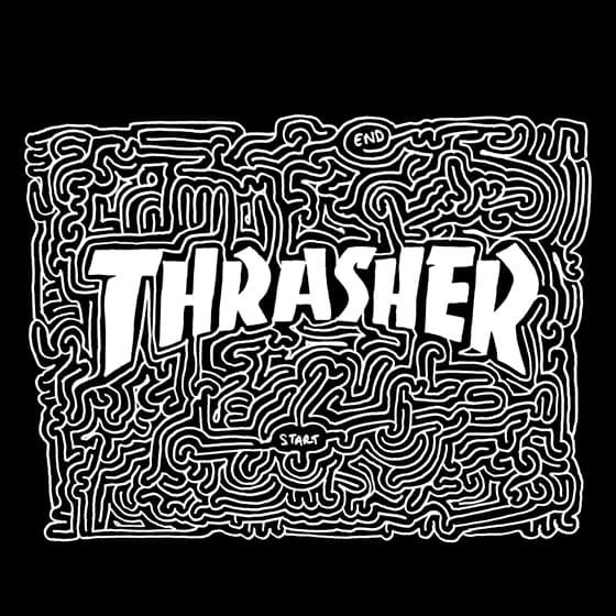 Женские свитшоты Thrasher