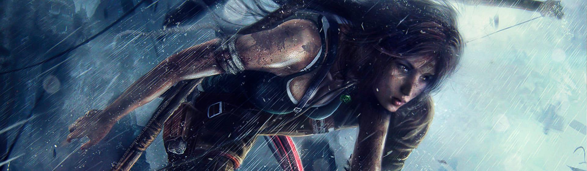 Tomb Raider - Женские свитшоты