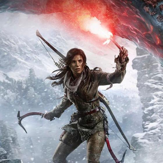Мужские хлопковые свитшоты Tomb Raider
