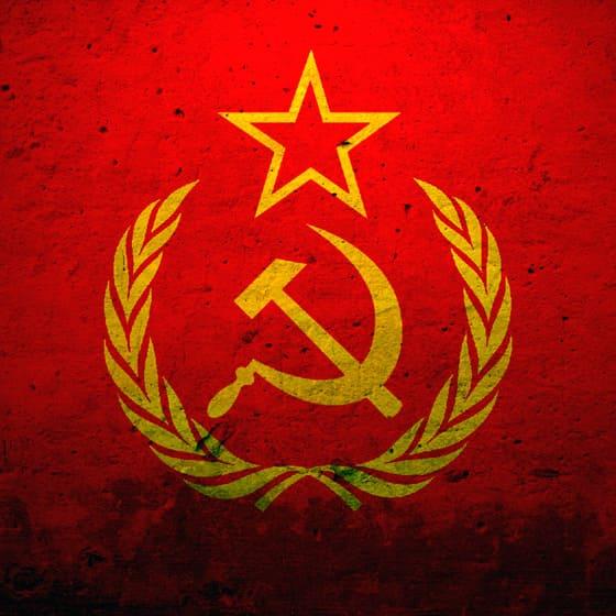 Зимние куртки с символикой СССР