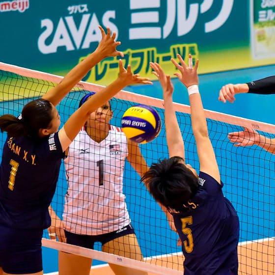 Волейбольные женские олимпийки